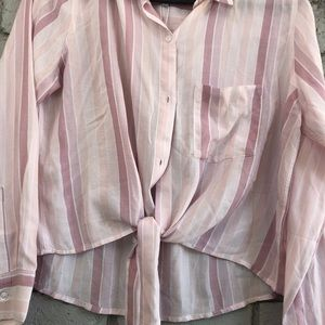 NWT soft Pink Long Sleeve Too